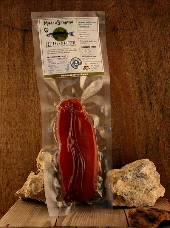 Made By Sardinia - Bottarga di muggine in baffe 80/110 g