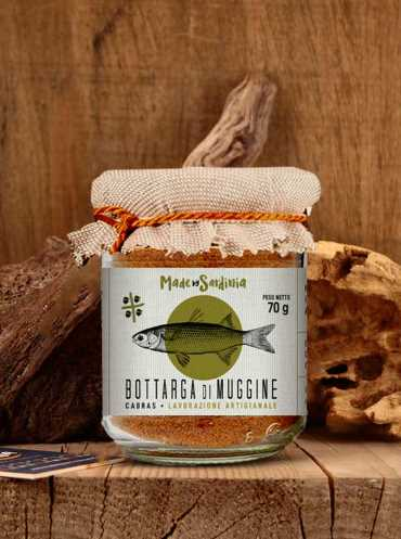 Made By Sardinia - Bottarga di muggine grattugiata 70 g