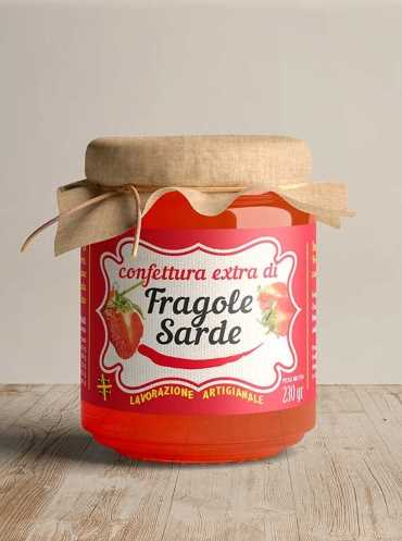 Made By Sardinia - Confettura extra di fragole 230 g