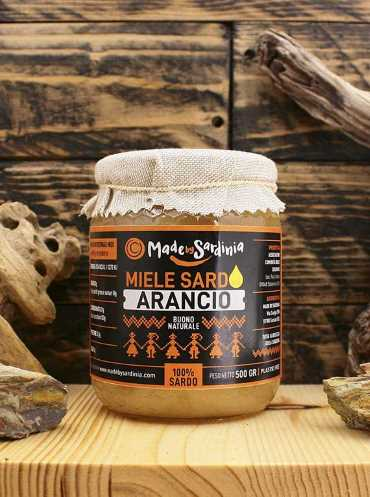 Made By Sardinia - Miele arancio 500 g